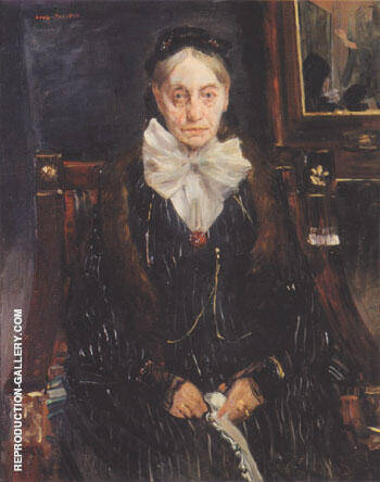 Reproduction of Portrait of Frau Schreiber 1902 by Lovis Corinth | Oil Painting Replica On CanvasReproduction Gallery