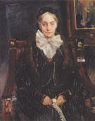 Portrait of Frau Schreiber 1902 By Lovis Corinth