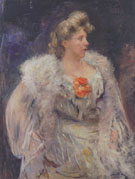 The Singer Frieda Halbe 1905 By Lovis Corinth