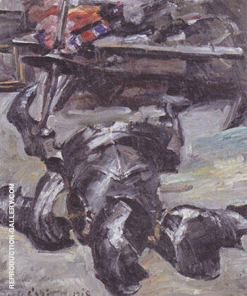 Pieces of Armor in the Studio 1918 By Lovis Corinth