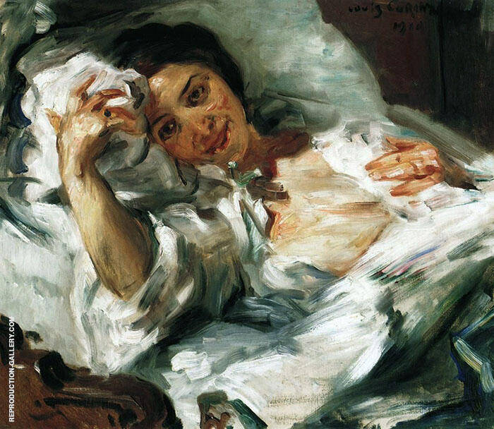 Morning Sun 1910 Painting By Lovis Corinth - Reproduction Gallery
