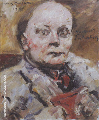 Herbert Eulenberg 1924 By Lovis Corinth - Oil Paintings & Art Reproductions - Reproduction Gallery