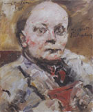 Herbert Eulenberg 1924 By Lovis Corinth