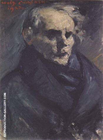 Portrait of the Painter Bernt Gronvold 1923 By Lovis Corinth