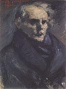 Portrait of the Painter Bernt Gronvold 1923 By Lovis Corinth