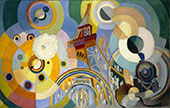 Air Iron and Water 1936 By Robert Delaunay