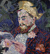 Portrait of Henri Carlier 1906 By Robert Delaunay