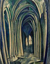 Saint Severin No.3 1909 By Robert Delaunay