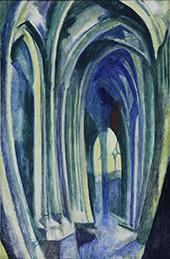 Saint Severin No.5 The Rainbow 1909 By Robert Delaunay
