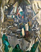La Ville No.2 1910 By Robert Delaunay