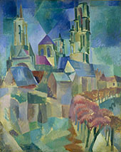 The Towers of Laon 1912 By Robert Delaunay