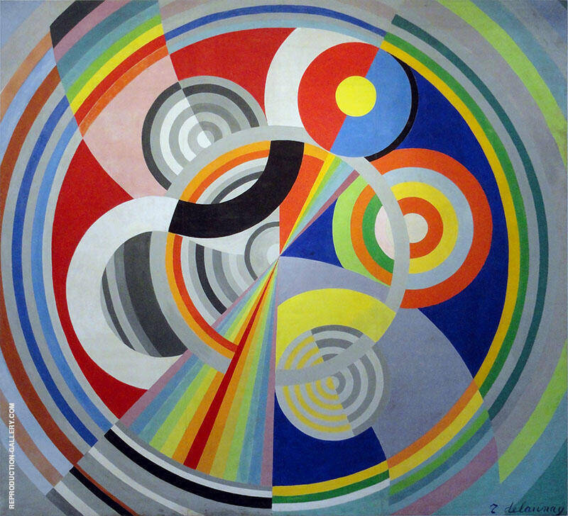 Rhythm No.1 1938 By Robert Delaunay