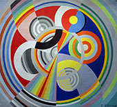 Rhythm No.1 1938 By Robert Delaunay