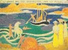 Ils virent-des fees debarquer sur les plages 1893 By Maurice Denis