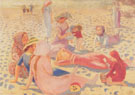 Plage au petit garcon 1911 By Maurice Denis