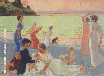 Soir de septembre 1911 By Maurice Denis