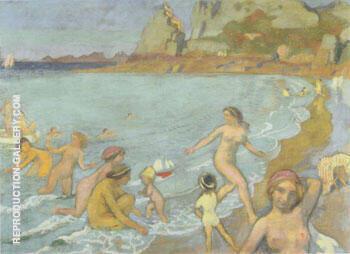 Jeux de Galatee a Trestrignel 1912 By Maurice Denis