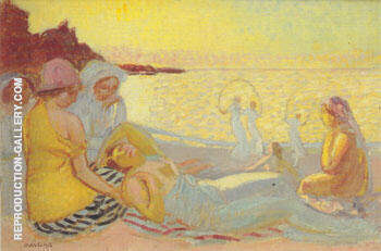 Ariane au crepuscule 1913 By Maurice Denis