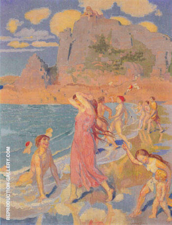 Galatee 1917 Painting By Maurice Denis - Reproduction Gallery