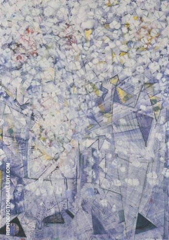 Fillettes Partant Pour la Chasse au Papillon Blanc 1957 Painting By ...
