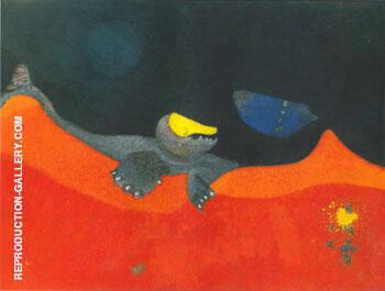 Enseigne Pour Une Ecole des Monstres 1968 By Max Ernst