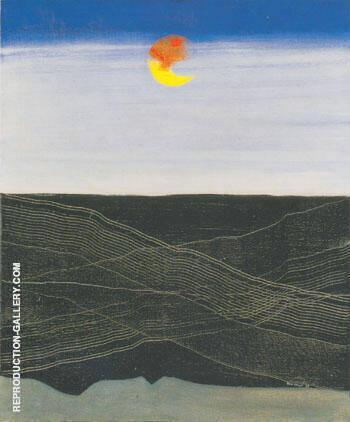 Mer et soleil Signes de navigation 1925 By Max Ernst