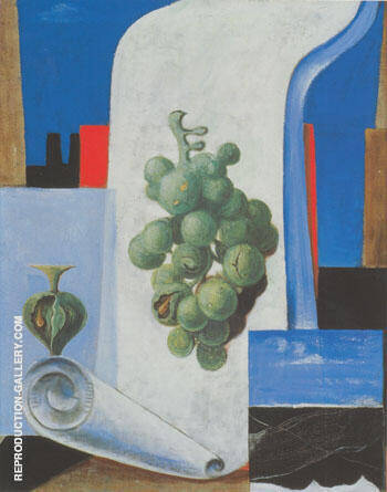 Reproduction of Ohme Titel Raisins 1925 by Max Ernst | Oil Painting Replica On CanvasReproduction Gallery
