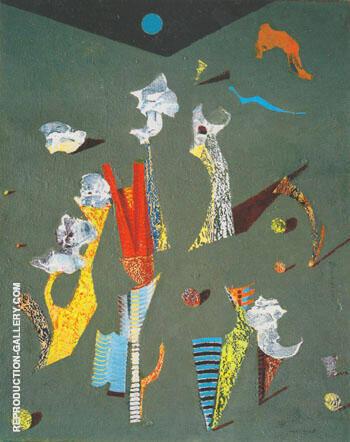Fleurs 1928 By Max Ernst