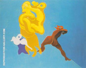 Malediction a vous les Mamans 1928 By Max Ernst