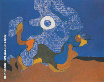 Windsbraut Variation uber das Thema Windsbraut 1928 Painting By Max Ernst