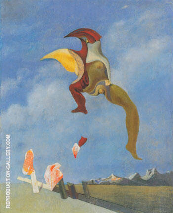 Reproduction of Loplop 1932 by Max Ernst | Oil Painting Replica On CanvasReproduction Gallery