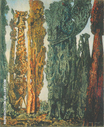 Conscions Landscape 1942 Painting By Max Ernst - Reproduction Gallery