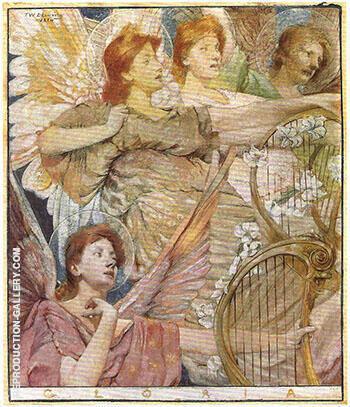 Gloria 1884 By Thomas Wilmer Dewing