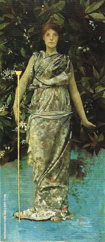 Hymen 1886 By Thomas Wilmer Dewing