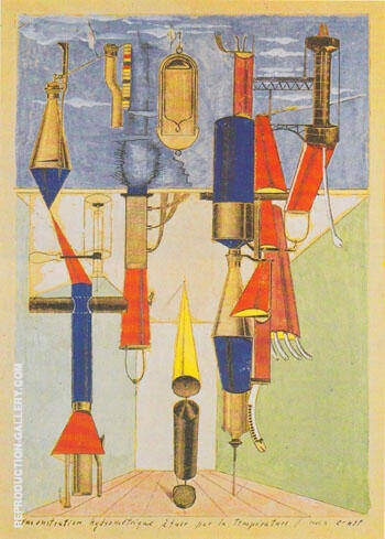 Hydrometric Demonstration of Killing by Temperature 1920 By Max Ernst
