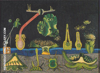 Untitled 1920. By Max Ernst Replica Paintings on Canvas - Reproduction Gallery