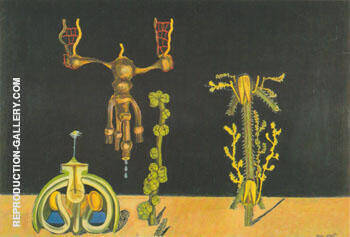 Untitled c.a. 1921 By Max Ernst