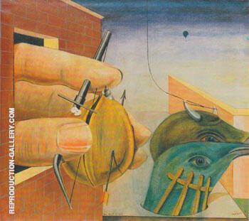 Oedipus Rex 1922 By Max Ernst