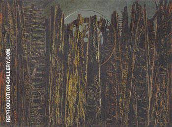 The Forest 1927-28 By Max Ernst
