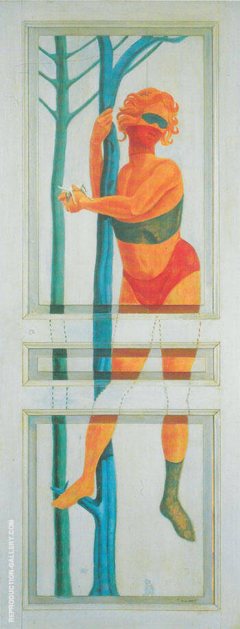 To Come In To Go Out 1923 By Max Ernst