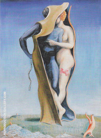 Long Live Love or Charming Countryside 1923 By Max Ernst