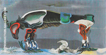 The Beautiful Season 1925 By Max Ernst
