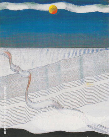 The Sea 1925 By Max Ernst Replica Paintings on Canvas - Reproduction Gallery