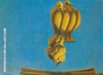 Project for onument to the Birds 1927 Painting By Max Ernst