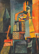 Towers 1916 By Max Ernst
