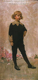 Portrait of Robert Walton Goelet 1886 By Thomas Wilmer Dewing
