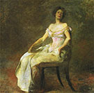 Harmony in Rose and Gray 1895 By Thomas Wilmer Dewing