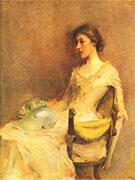 Portrait of a Lady 1898-99 By Thomas Wilmer Dewing