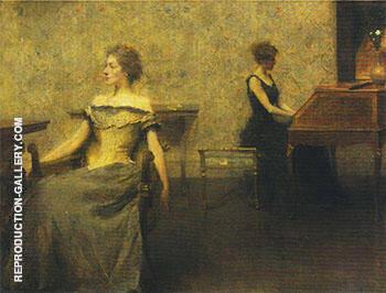 Brocart de Venise 1904 By Thomas Wilmer Dewing