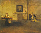 The Letter 1907 By Thomas Wilmer Dewing